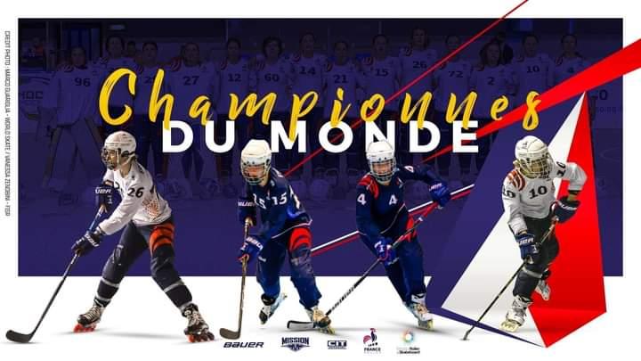 CHAMPIONNE DU MONDE !!!